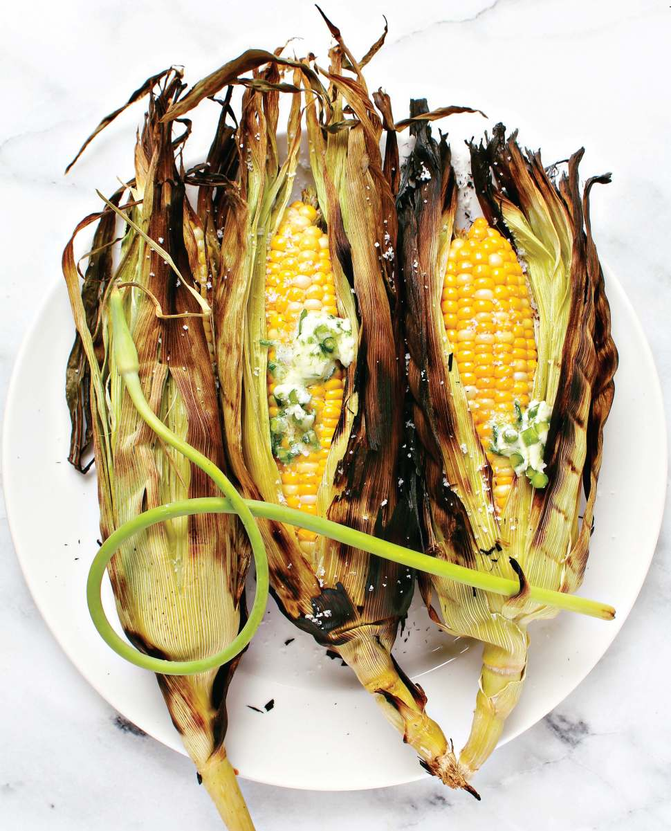 Barbecued Corn on the Cob (1)